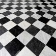 Stock Photo: Checkers tiles