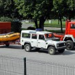 Rescue vehicles — Stock Photo