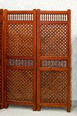 Wooden screen — Stock fotografie