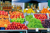 Market stand — Stock Photo
