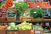 Mercado de verduras — Foto de Stock