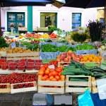 Farmer market — Stock Photo