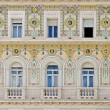 Trieste facade — Stock Photo