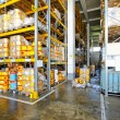 Flammable warehouse - Stock Photo