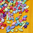 Beads pieces — Foto de Stock