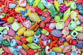 Beads background — Stockfoto