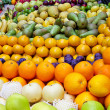 All fruits — Stock Photo