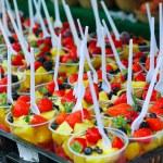 Фруктовые салаты — Стоковое фото