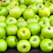Green apples — Stock fotografie