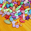 Stock Photo: Beads elements