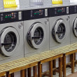 Stock Photo: Laundry machines