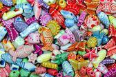 Beads pattern — Stock Photo