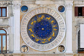 Venice zodiac clock — Stock Photo