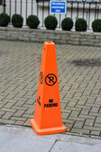 No parking cone — Stock Photo