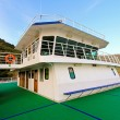 Ferry wheelhouse — Foto Stock