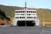 Open ferryboat — Stock Photo