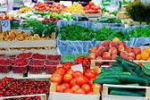 Farmer market place — Stock Photo