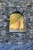 Window stone — Stock Photo