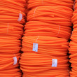 Orange pipes — Stock Photo