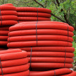 Stock Photo: Red coils