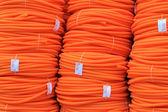 オレンジ色のパイプ — ストック写真