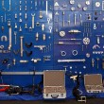 Garage tools — Stock Photo