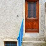 House entrance — Stock Photo