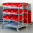 Inventory rack - Stock Photo
