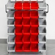 Storage cart - Stock Photo