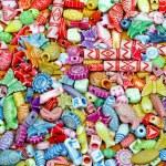 kleur kralen — Stockfoto