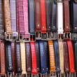 Leather belts — Stock Photo #6098201