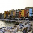 Stock Photo: Portovenere houses