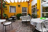 Dining terrace — Foto de Stock