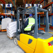 Royalty-Free Stock Photo: Forklift drive