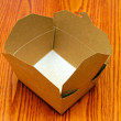 Empty carton box — Stock Photo