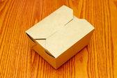 Closed carton box — Stock Photo