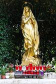 Madonna heykeli altın — Stok fotoğraf