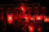 赤い蝋燭 — ストック写真