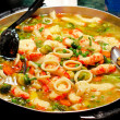 Shrimp stew - Stock Photo