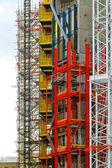 Construction scaffolding — Foto de Stock
