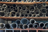 Pipe storehouse — Stock Photo