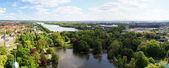Hannover lake — Stock Photo