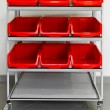 Supply cart — Stock Photo