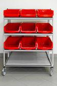 Supply cart — Stock Photo