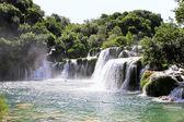 Krka waterfalls — Stock Photo