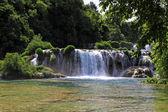 Waterfalls Krka — Stock Photo