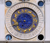 Zodiac clock San Marco — Stock Photo