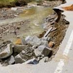 Road failure — Stock Photo #6474921