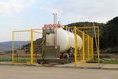 LPG reservoir — Stock Photo