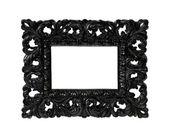 Black frame — Stock Photo